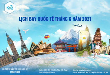 Lịch Bay Quốc Tế Vietnam Airlines